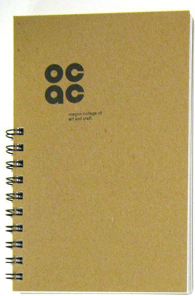 OCAC | Student Handbook | Letterpress printed jacket design