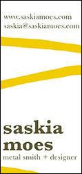 Saskia Moes | Business Card Design