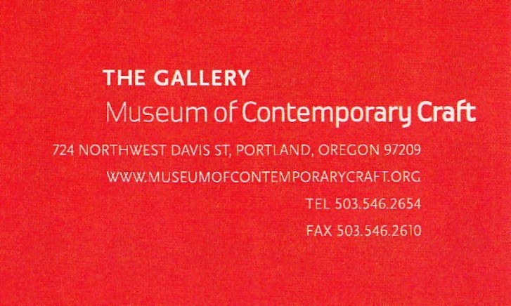 The Gallery at Museum of Contemporary Crafts | Logo Design