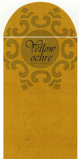 Yellow Ochre | Envelope Design