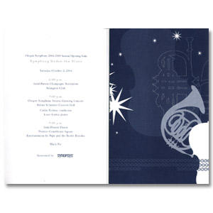 Oregon Symphony | Gala Invitation Design